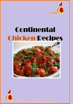 Continental Chicken Recipes apk screenshot