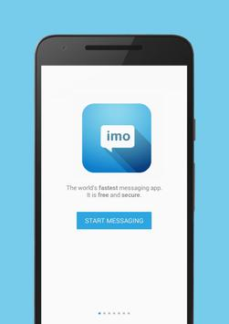 Messenger and Chat for Imo poster