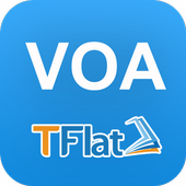 Luyen Nghe Tieng Anh VOA TFLAT icon