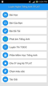 Luyen Nghe Tieng Anh VOA TFLAT poster