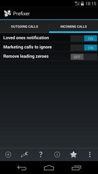 Prefixer apk screenshot