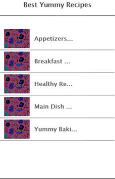 Best Yummy Recipes poster
