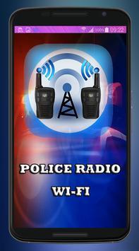 Police Radio WiFi poster