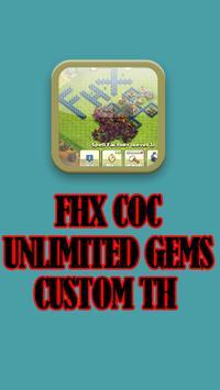 FHx CoC TH 11 apk screenshot