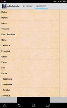 Indonesia Bible Audio apk screenshot