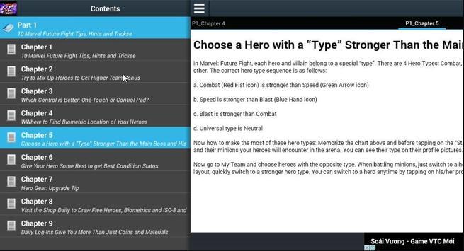 Tips 10 Marvel Future Fights apk screenshot