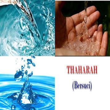 Thaharah (bersuci) poster