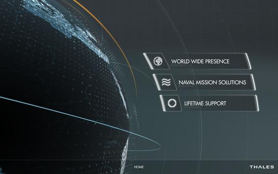 Thales Naval poster