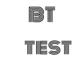 blue tooth test icon