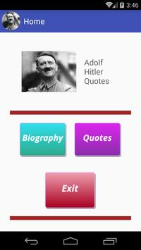 Adolf Hitler Quotes apk screenshot