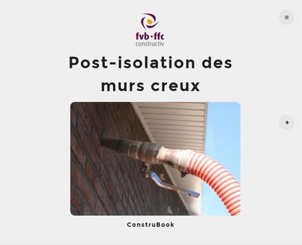 Post-isolation des murs creux apk screenshot