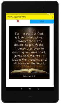 The Message Bible Offline poster