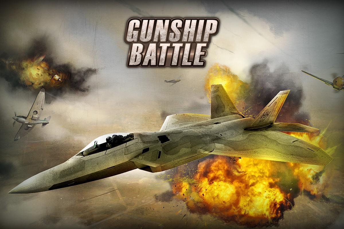 GUNSHIP BATTLE Helicopter 3D Android mobile Gameplay - YouTube