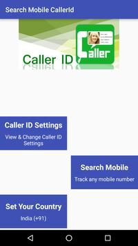 Mobile True Caller-ID Tracker poster