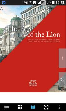 The Age of the Lion poster