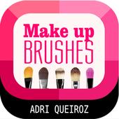 Make up brushes icon