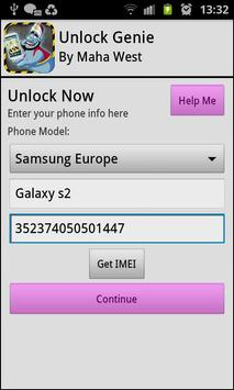 Phone Unlocker Genie apk screenshot