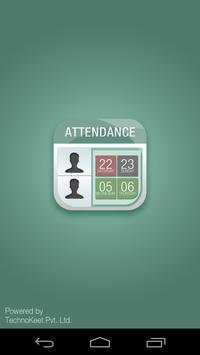 Easy Attendance Register poster