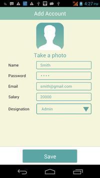 Easy Attendance Register apk screenshot
