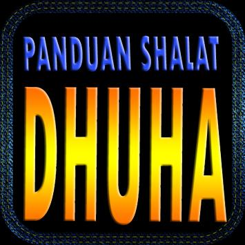 Panduan Sholat Dhuha poster