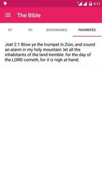 The Bible - Offline apk screenshot