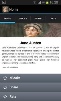 Jane Austen Books poster