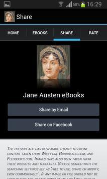Jane Austen Books apk screenshot