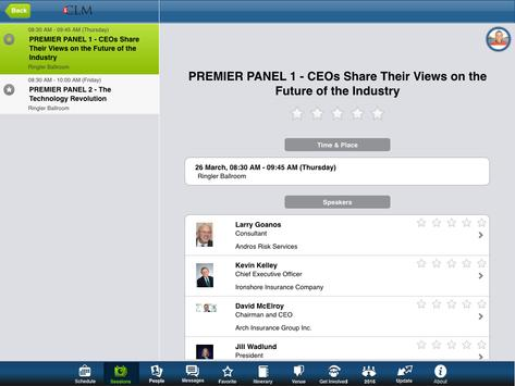 CLM Annual Conference - Tablet apk screenshot