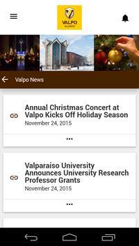 Valparaiso University Alumni apk screenshot