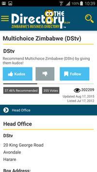 TheDirectory.co.zw apk screenshot