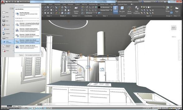 3D AutoCad 2011 Reference poster