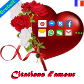 Top sms d'amour icon
