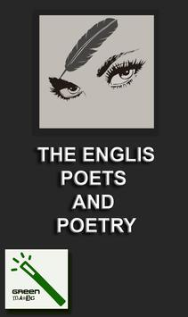 TGM English Poets and Poetry 1 poster