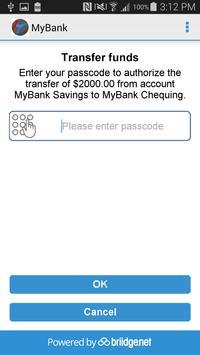 MyBank by briidge.net Connect apk screenshot