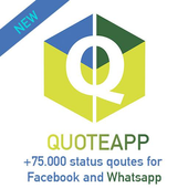 QuoteApp quotes for facebook icon