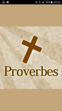 Proverbes de la Bible poster