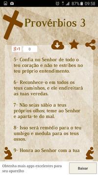 Provérbios da Bíblia apk screenshot