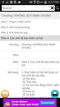 LUAT BAO HIEM XA HOI apk screenshot