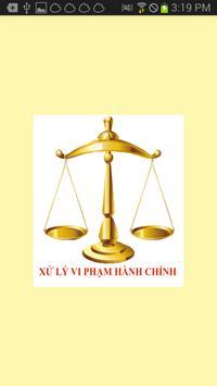 LUAT XU LY VI PHAM HANH CHINH poster