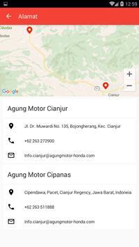 AHASS AGUNG MOTOR CIANJUR apk screenshot