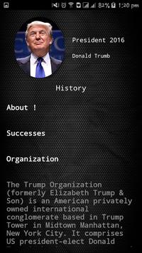 Welcome - Donald Trump apk screenshot