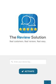 The Review Solution poster