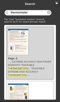 Fisher Scientific Catalog apk screenshot