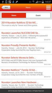 Nuvoton apk screenshot