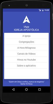 IApp - Igreja Apostólica poster
