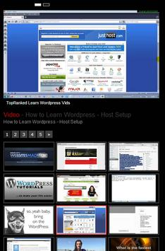TopRanked Learn Wordpress Vids apk screenshot