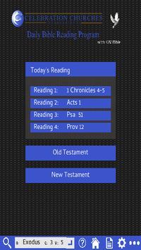 CC Bible Reading Program poster
