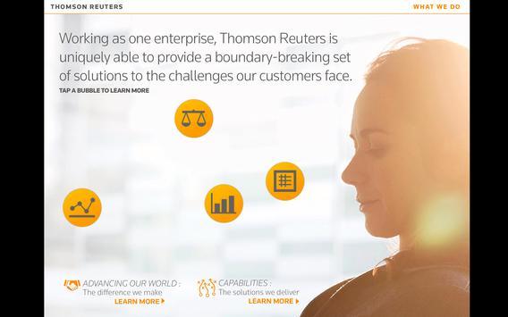 Thomson Reuters Our Story apk screenshot