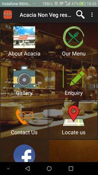 Acacia Non Veg restaurant poster