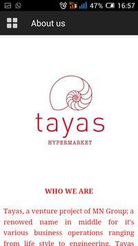 Tayas apk screenshot